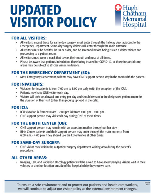 Updated Visitor Policy 2_lettersize_REV